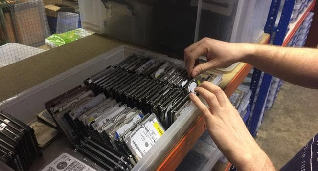 Hard disk donor drives